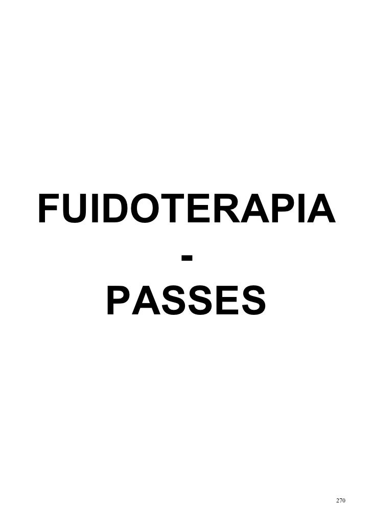 FUIDOTERAPIA      -   PASSES               270