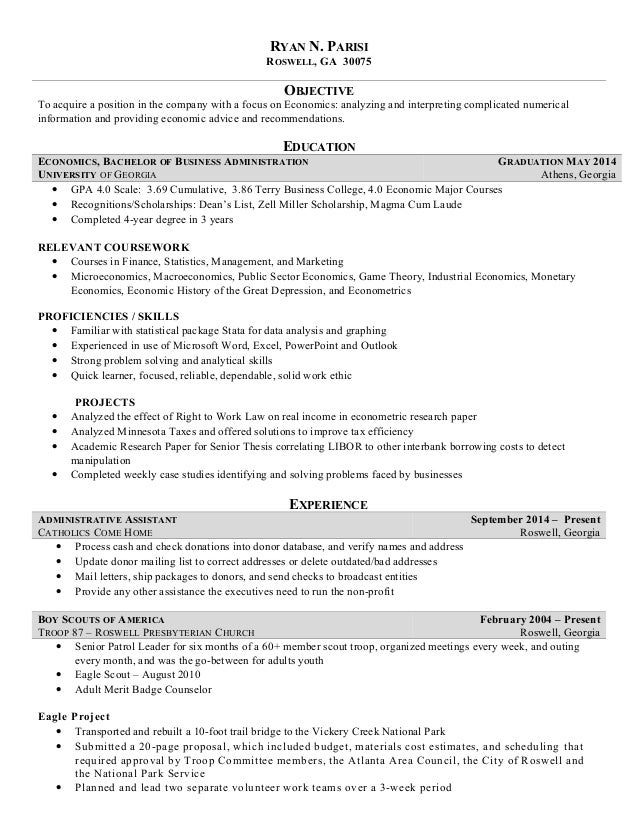 econometrics research paper topics