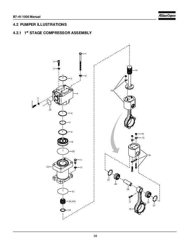 Atlas Copco U6 Operation Manual