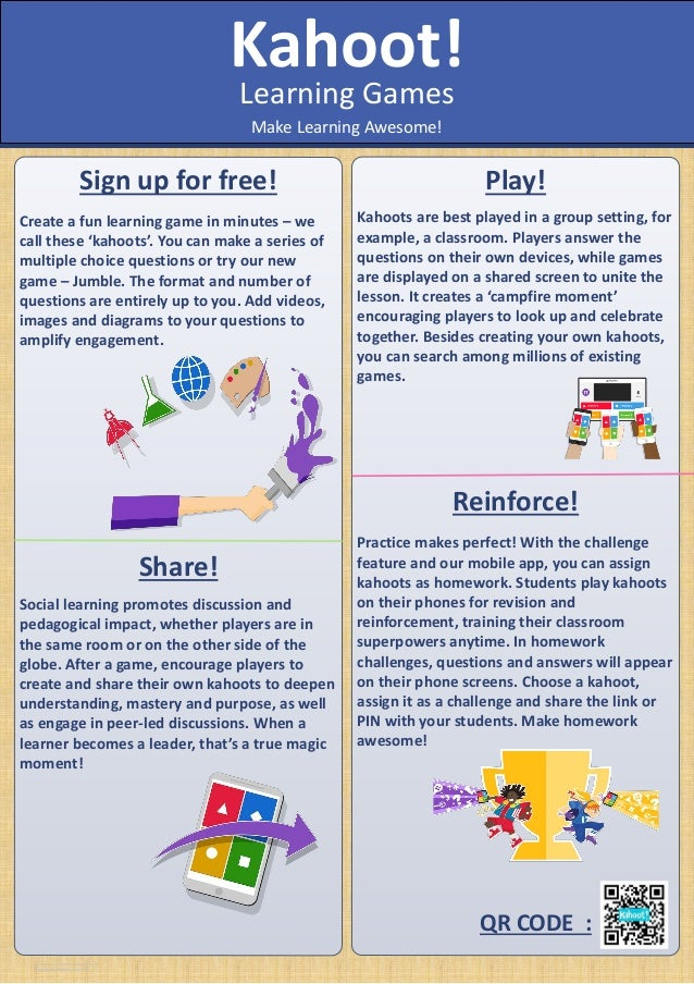 410309361 Poster About Kahoot