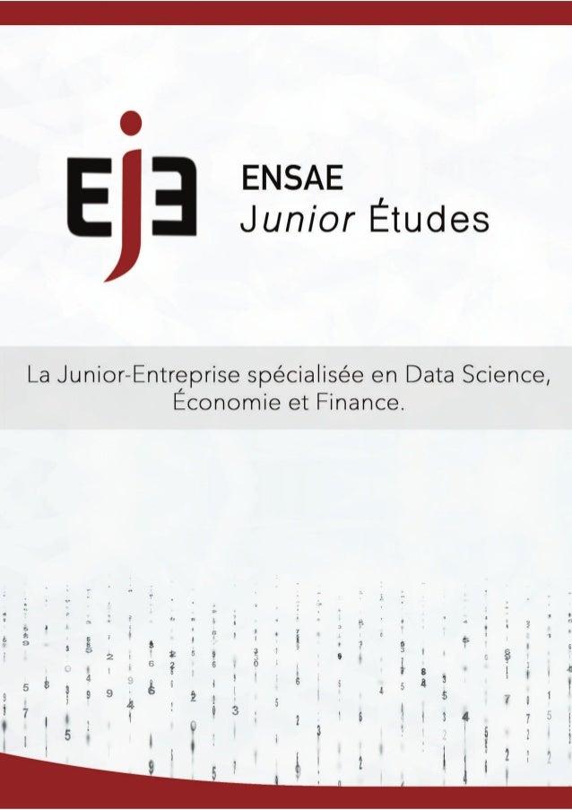 ENS Près de 400 étudiants aux profils riches Dauphine HEC X Pourquoi l'ENSAE ParisTech ? Nos compétences : Nos intervenants...