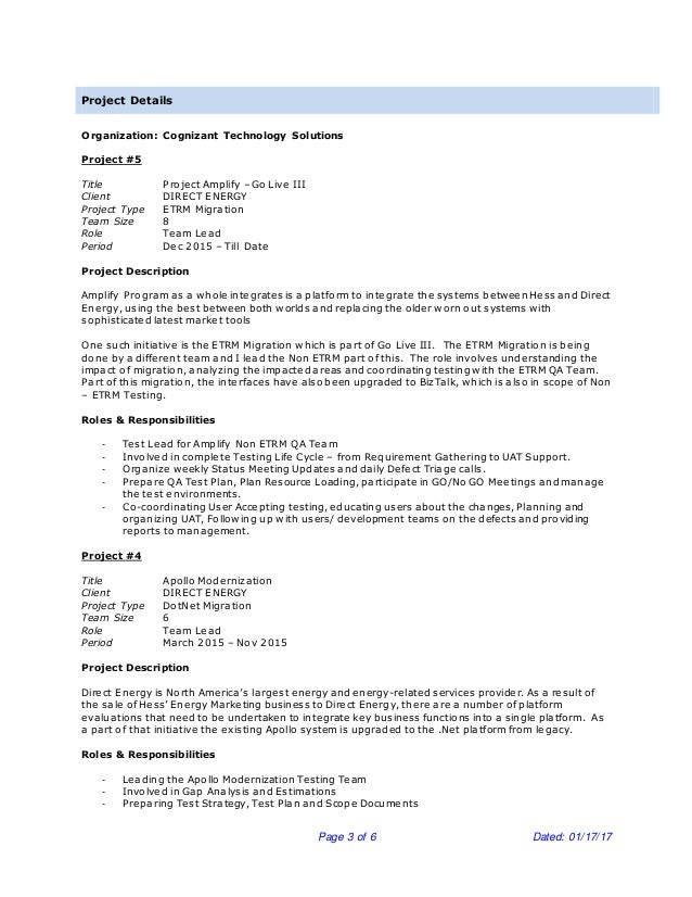 Fantastic Idt Energy Resume Festooning - Administrative Officer ...