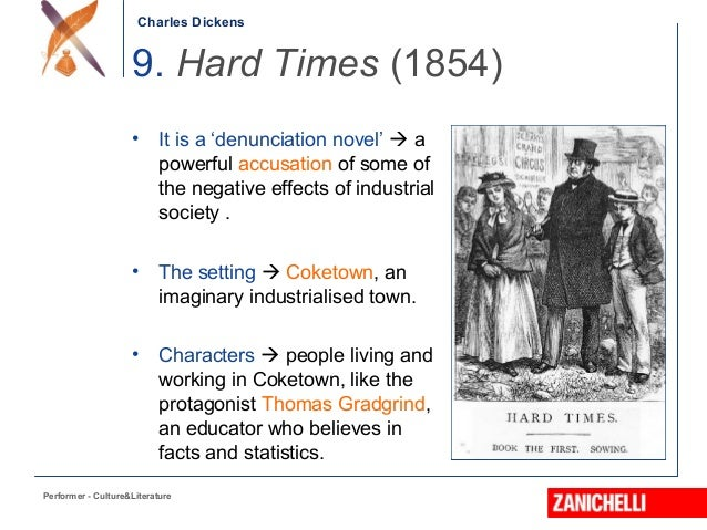 industrialization hard times charles dickens New school master, mr mcchoakumchild, in charles dickens' novel hard times 2 hard times , dickens' shortest novel, presents a critique of industrialization.
