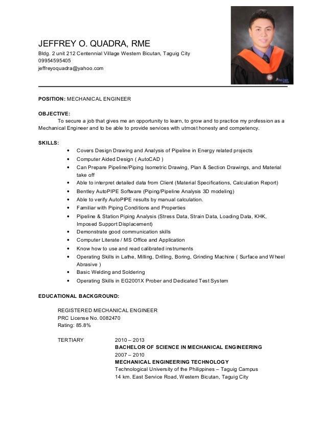 jeffrey resume
