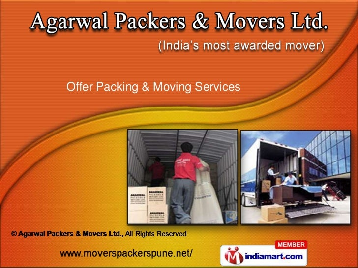 Packers And Movers Pune By Agarwal Packers Movers Ltd Delhi New D