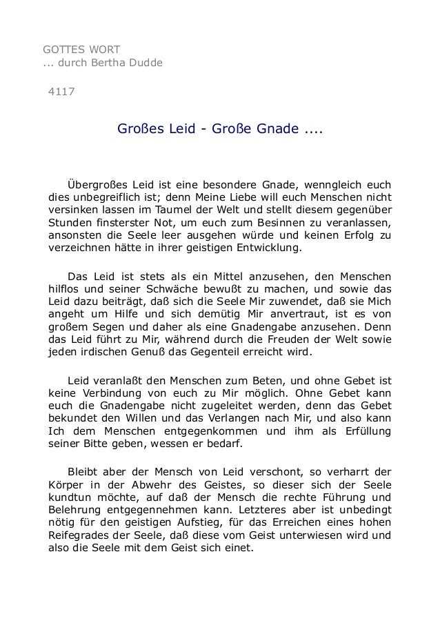 Gottes große Gnade Texte