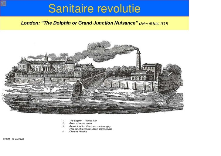 """Sanitaire revolutie                London: """"The Dolphin or Grand Junction Nuisance"""" (John Wright, 1827)                   ..."""