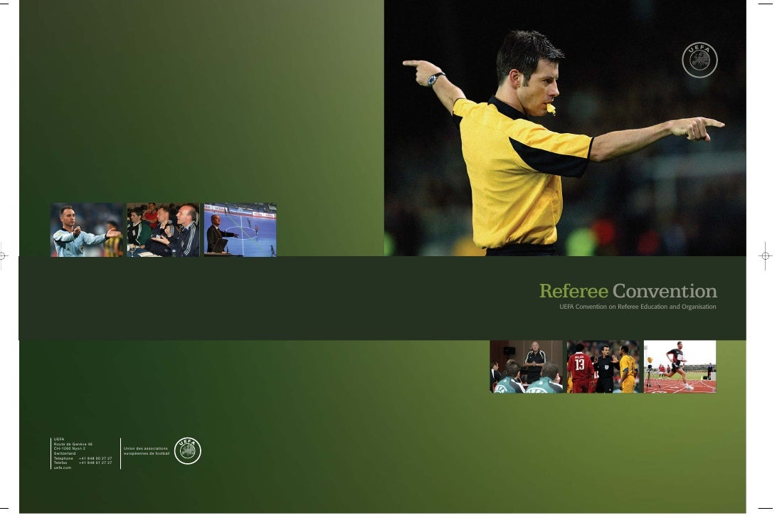 Referee Convention                                                            UEFA Convention on Referee Education and Org...