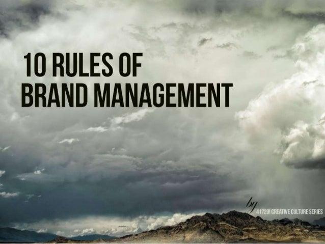 10 Steps of Brand Management in Digital Agencies