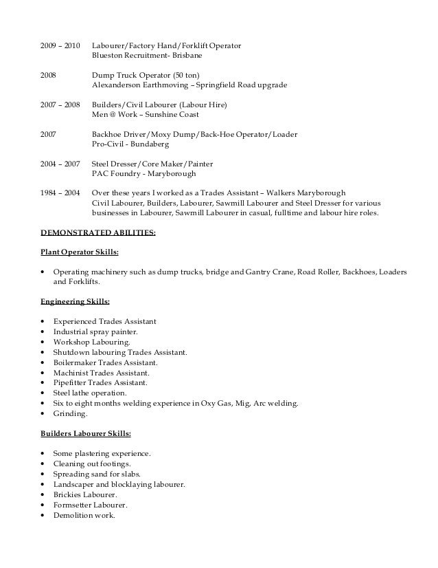 mark warwick resume