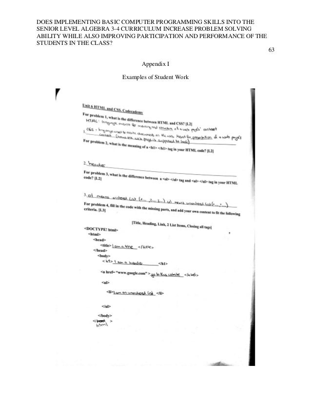 Research paper on computer programming