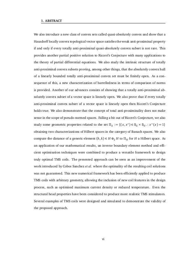1. ABSTRACT sentido en el ámbito de los espacios pseudo-normados. Saliéndonos un poco de la Con- jetura de Ricceri, estudi...