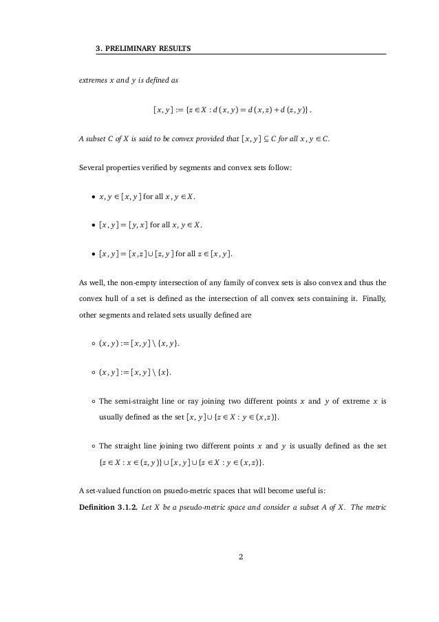 3.1 Geometric preliminary results It is well known that every strict sun is a sun, and every sun is an α-sun. Examples of ...