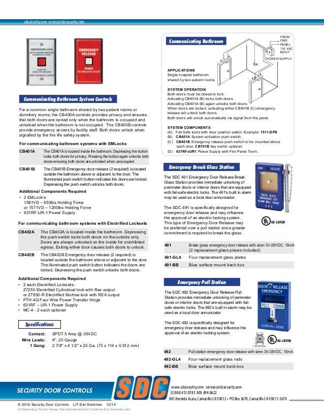 ... 4. SECURITY DOOR ...  sc 1 st  SlideShare & 413NU Data Sheet