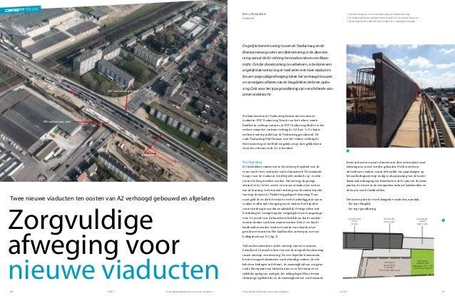 thema Zorgvuldige afweging voor nieuwe viaductenZorgvuldige afweging voor nieuwe viaducten62015 6201540 41 thema 1 Nieu...
