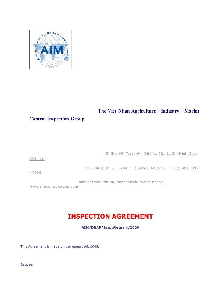 The Viet-Nhan Agriculture - Industry - Marine      Control Inspection Group                                               ...