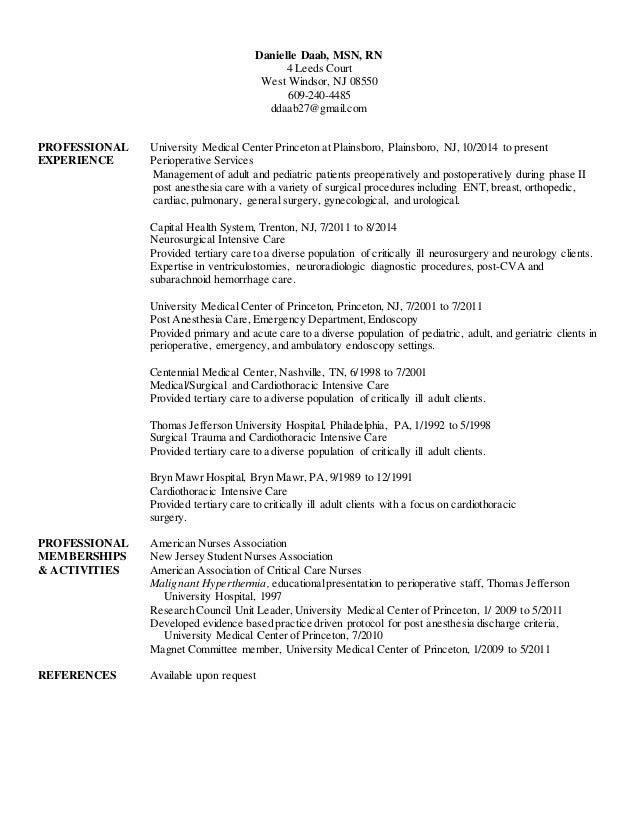 thomas jefferson resume