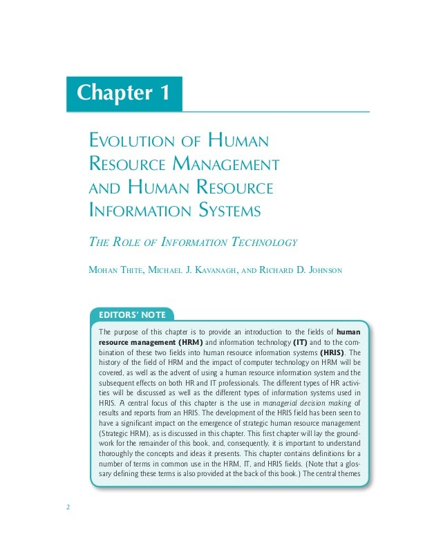 essay on evolution of human resource management Evolution of hrm types of strategic hrm strategic fit between environment, business strategy, hr stategy and hr practices different conceptual approaches to hrm and strategy design of appropriate hr practices to support business and hr strategy integration current issues in hr strategy and professional practice environmental.
