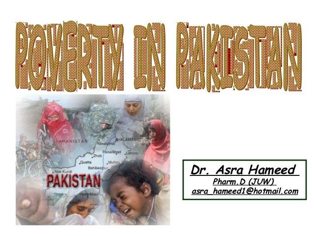 Dr. Asra Hameed Pharm.D (JUW) asra_hameed1@hotmail.com