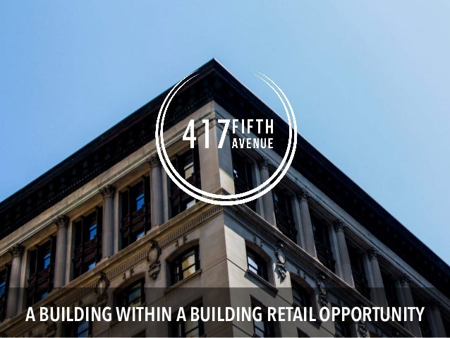 A BUILDING WITHIN A BUILDING RETAIL OPPORTUNITY