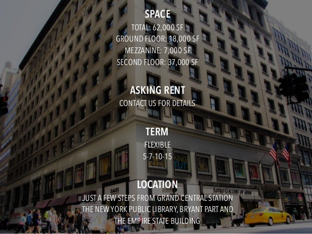 417 Fifth Avenue Retail Opportunity Slide 3