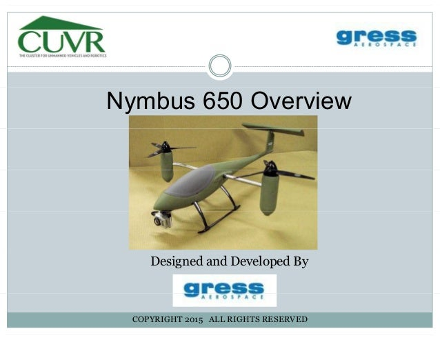 Nymbus 650 OverviewNymbus 650 Overview Designed and Developed By COPYRIGHT 2015 ALL RIGHTS RESERVED