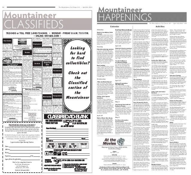 April 18, 2013 Mountaineer