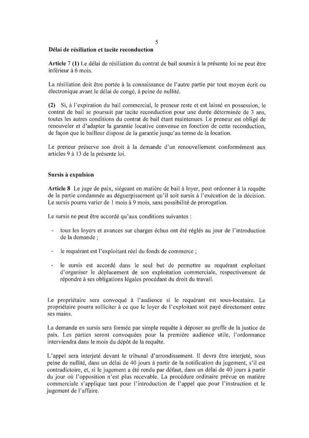 L Avant Projet De Loi Sur Le Bail Commercial Au Luxembourg
