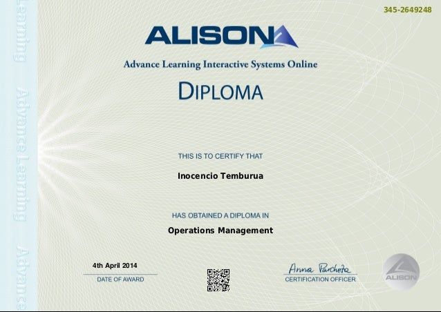 Computer Certificate Template