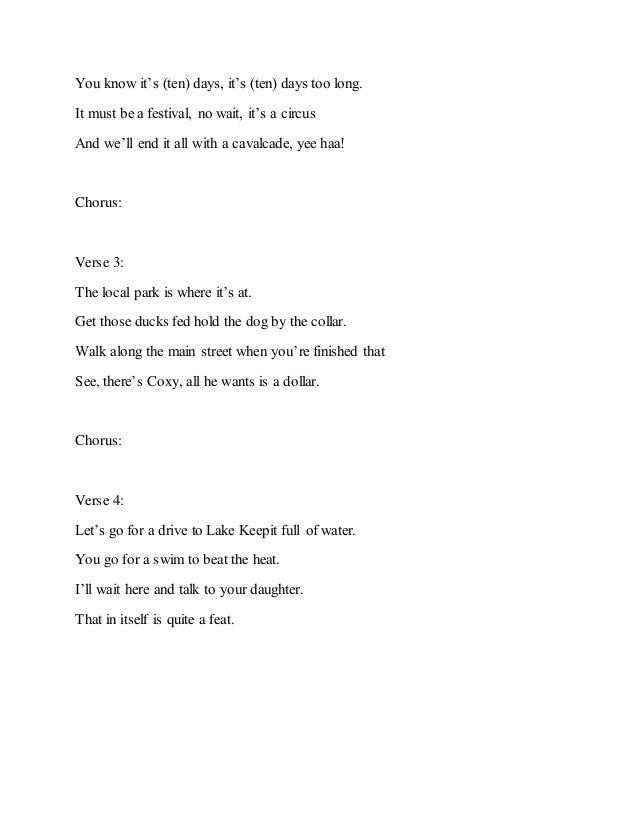 Lyric he wants it all lyrics : Lyrics for Do A Peelie