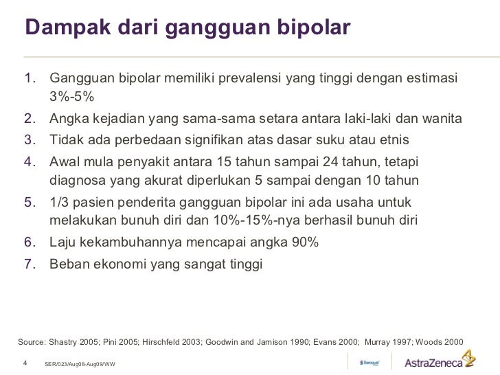 Dampak Dari Gangguan Bipolar