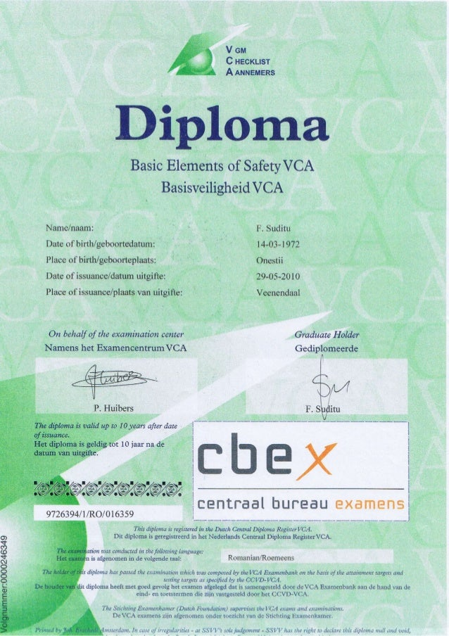 diploma pdf vca diploma pdf