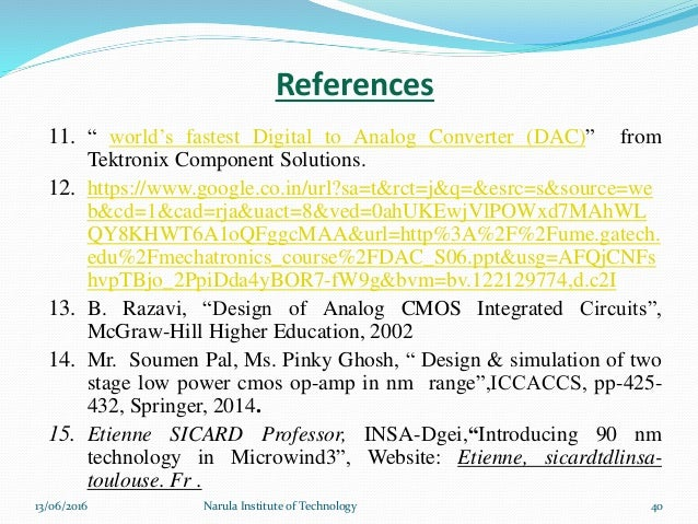 M Tech 4th Sem Presentation