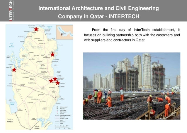 InterTech is a Qatar engineering and construction company Abu Dhabi