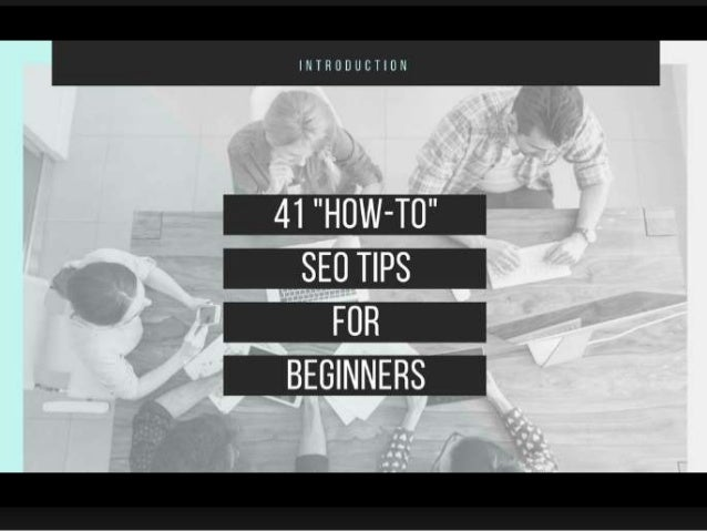 "SEO for Beginners: 41 ""How to Do SEO"" Tips - Free Course"