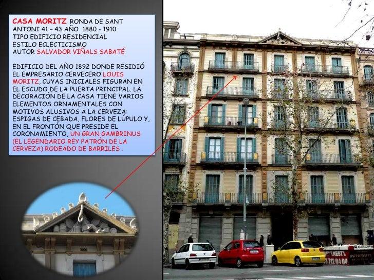 Sant antoni poble sec barcelona 41 presentaci n - Moritz ronda sant antoni ...
