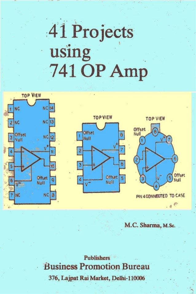 41 projects using ic 741 op amp