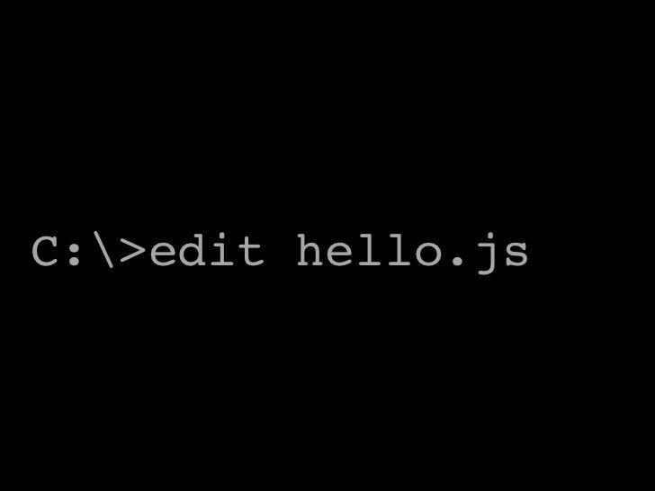 JavaScript shell scripting