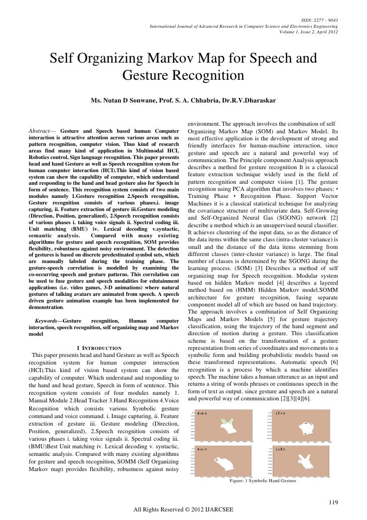 ISSN: 2277 – 9043                                                     International Journal of Advanced Research in Comput...