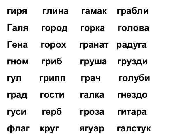 Согласные звуки г, гь. Буквы Гг. Урок 1