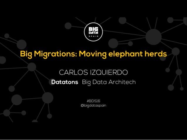 Big Migrations: Moving elephant herds
