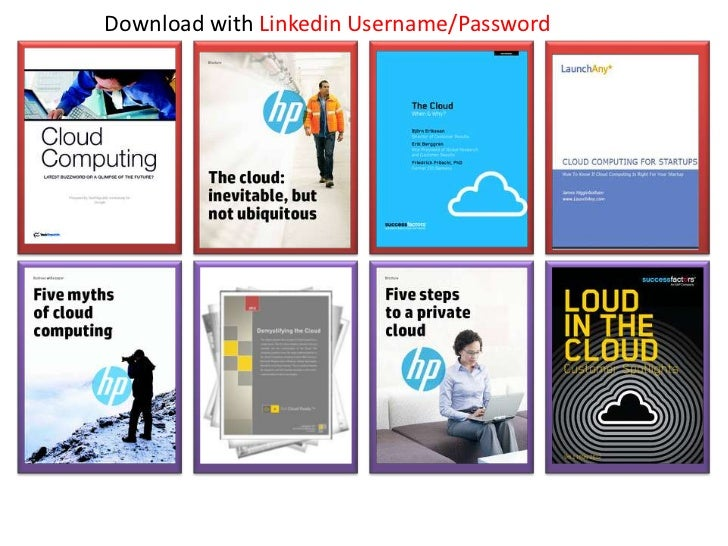 Download with Linkedin Username/Password