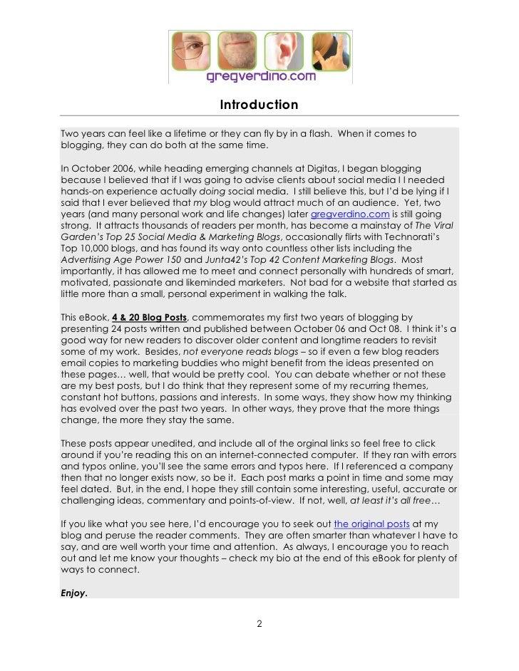 4&20 Blog Posts: a Marketing eBook Slide 2