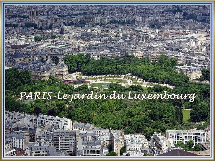 420 paris jardin du luxembourg for Jardin paris