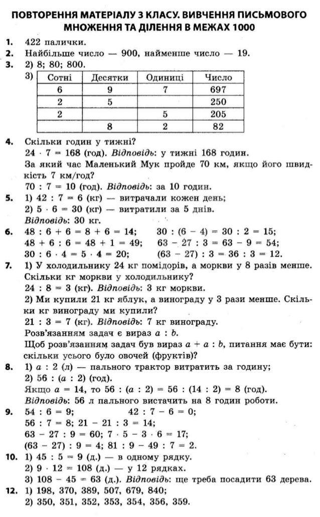 Решебник по Математике 1