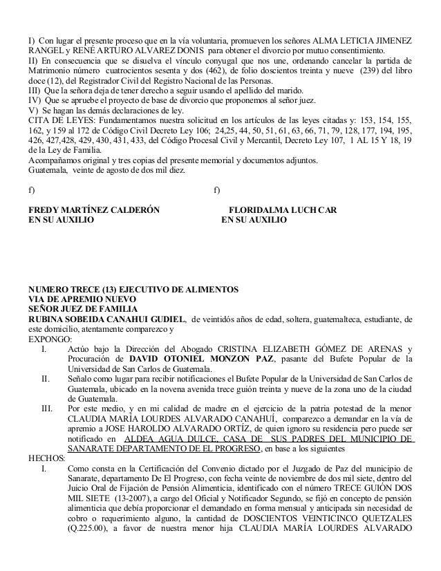 I) Con lugar el presente proceso que en la vía voluntaria, promueven los señores ALMA LETICIA JIMENEZ RANGEL y RENÉ ARTURO...