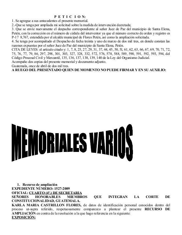 420 memoriales generales