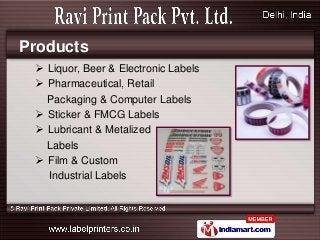 Ravi Print Pack Delhi India