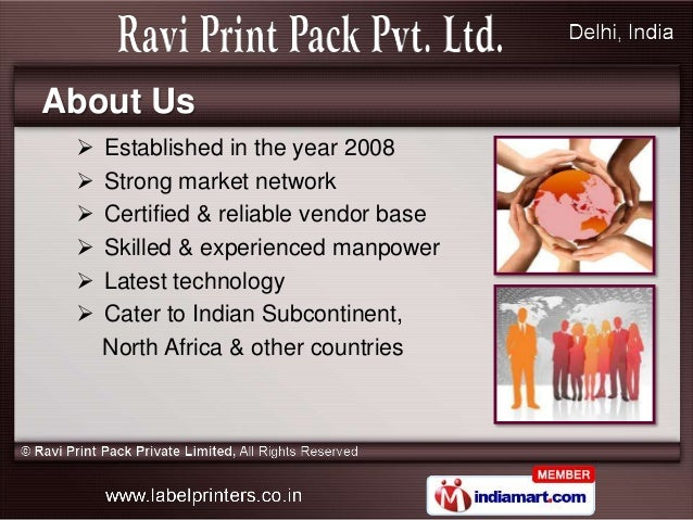 Ravi Print Pack Delhi India