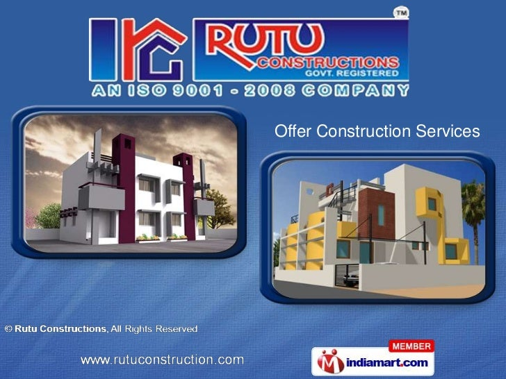 Offer Construction Services